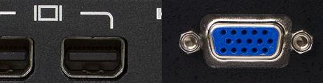 Mini Displayport naar VGA